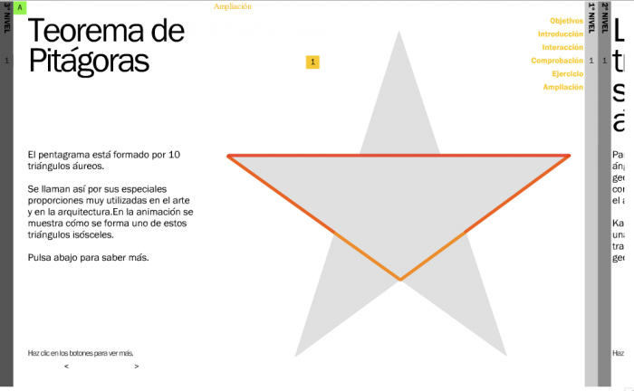 Other properties of triangles: the Golden Triangle