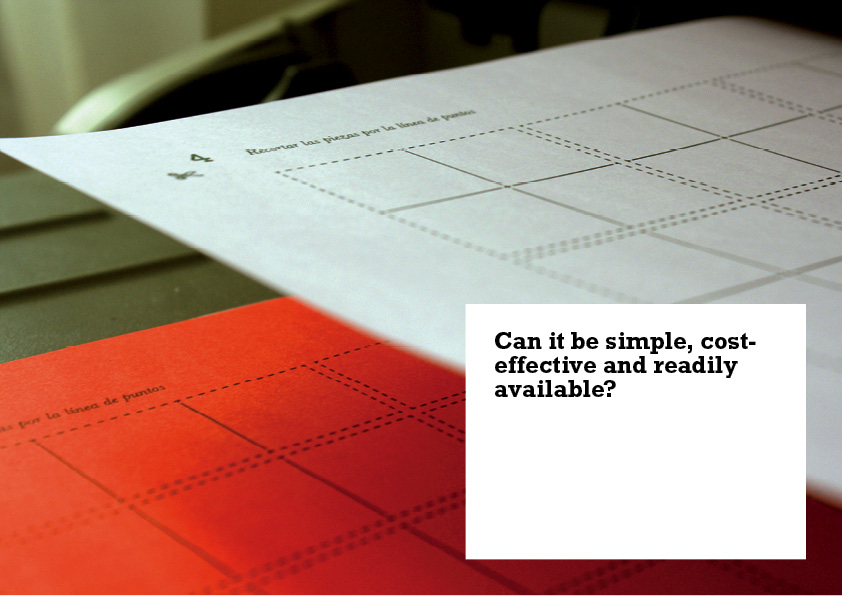 Can it be simple, cost effective and readily available?