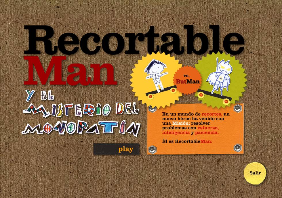 RecortableMan II splash screen