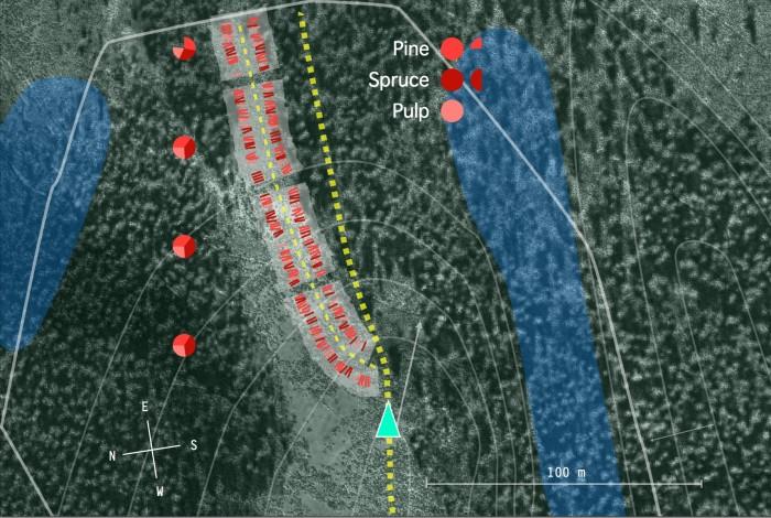 Subarea overview map