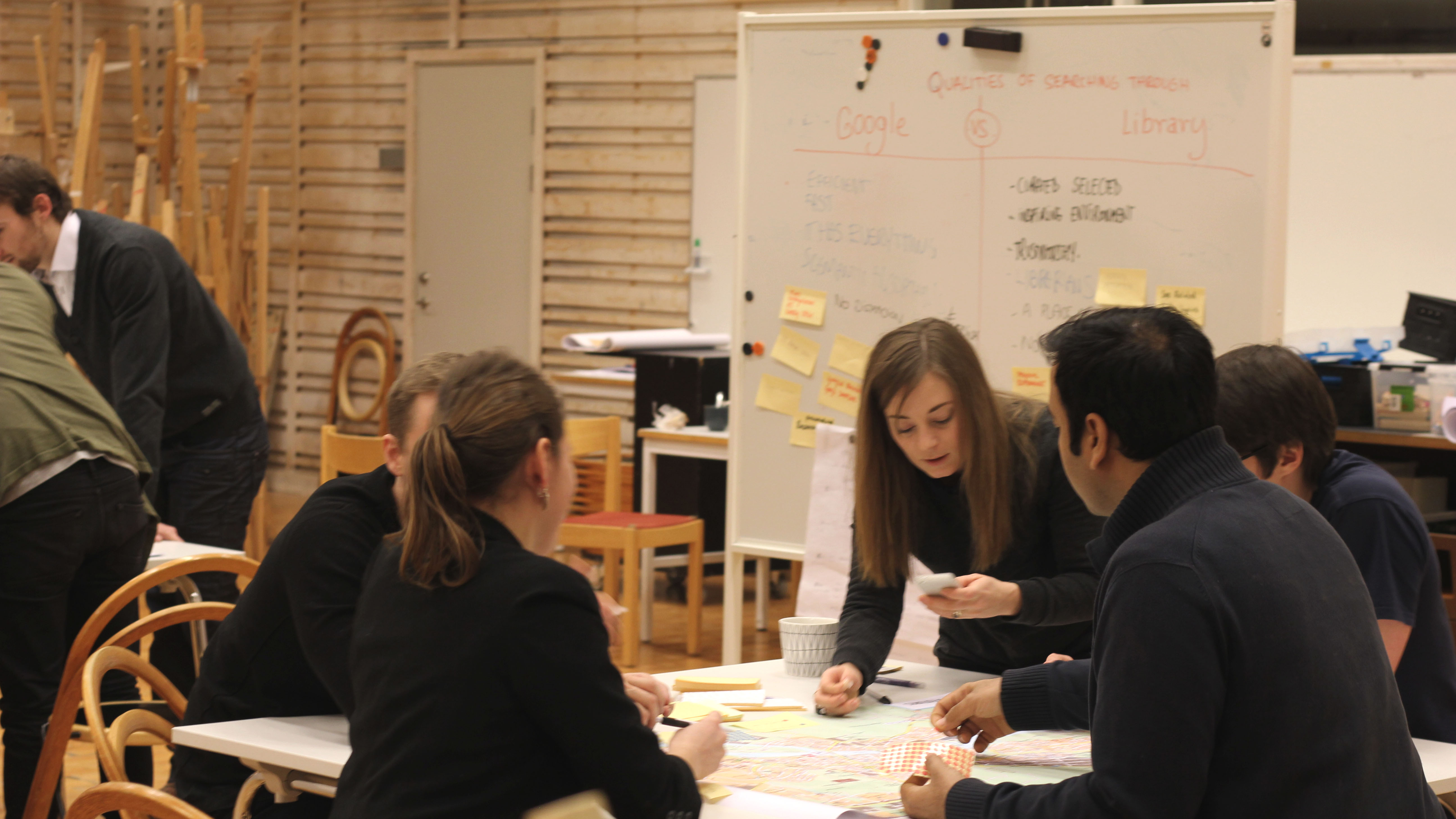 The future of the Library cocreation workshop
