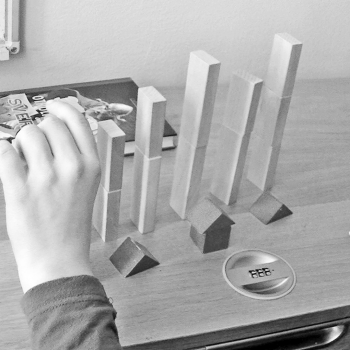 Representing sound with blocks, numbers and operations