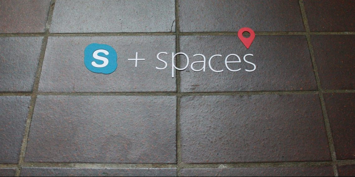 + spaces concept for Skype