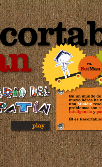 RecortableMan II splash screen